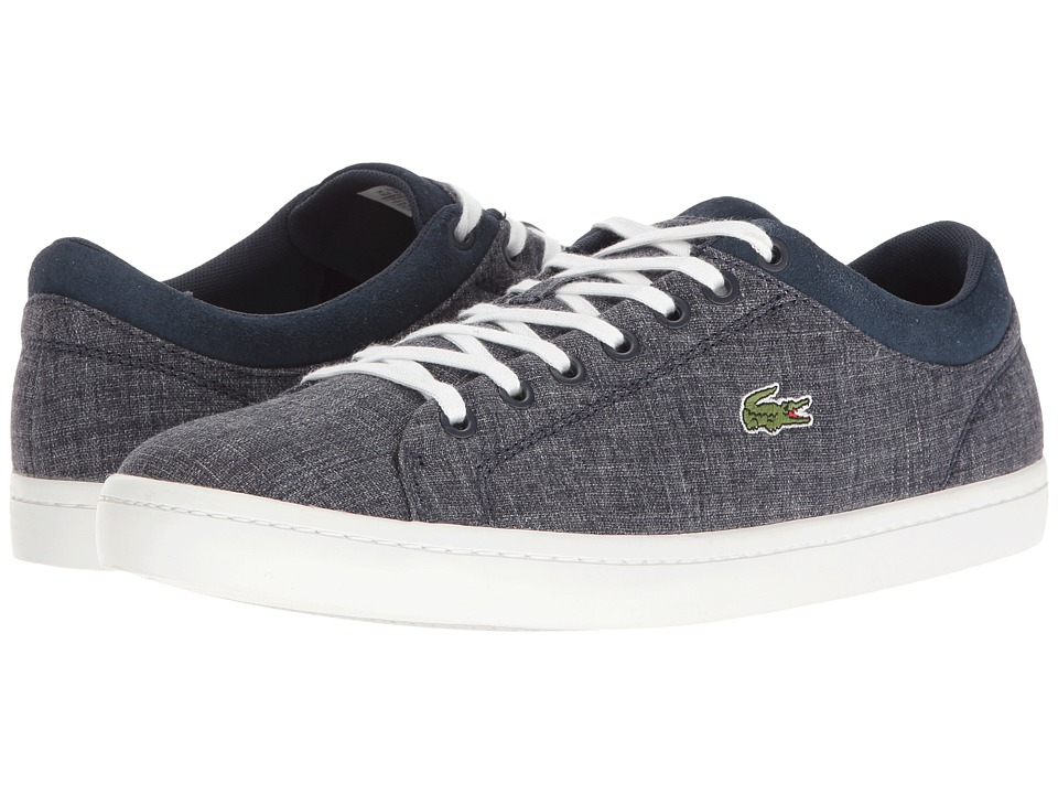 Lacoste - Straightset SP 217 1 (Navy) Men's Shoes