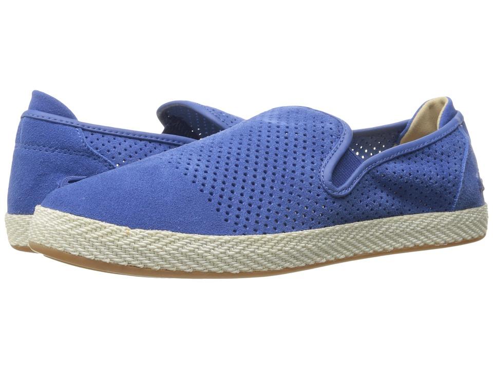 Lacoste - Tombre Slip-On 217 1 (Blue) Men's Slip on Shoes