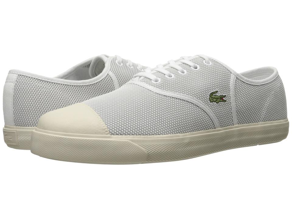 Lacoste - Rene 217 2 (White) Men's Shoes