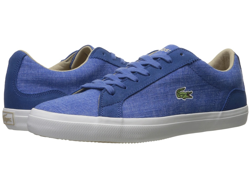 Lacoste - Lerond 217 1 (Blue) Men's Shoes