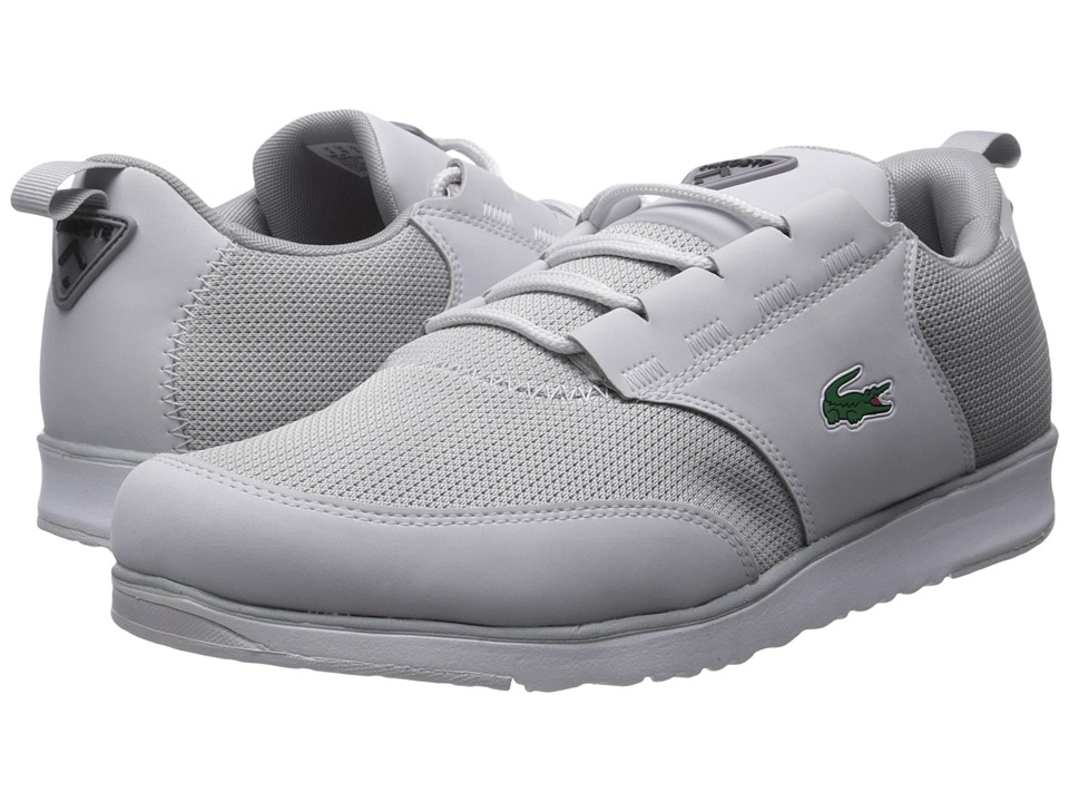 Lacoste - L.Ight 217 1 (Light Grey) Men's Shoes