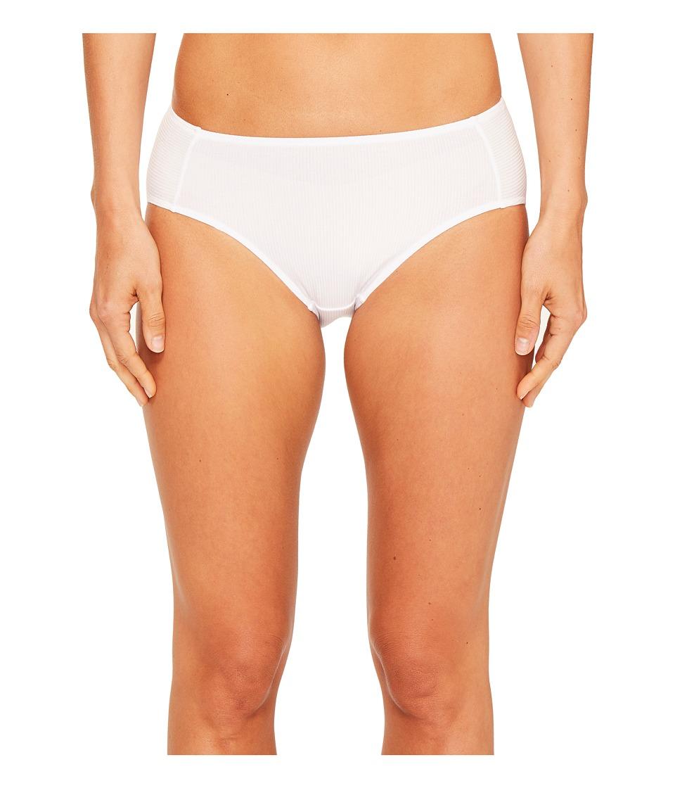 Hanro - Helene Hi-Cut Brief (White) Women's Underwear