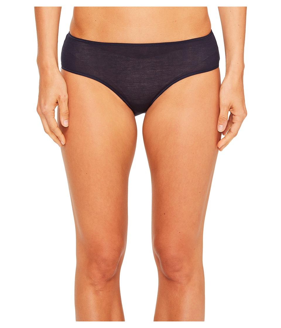 Hanro - Ultralight Hi-Cut Brief (Deep Midnight) Women's Underwear
