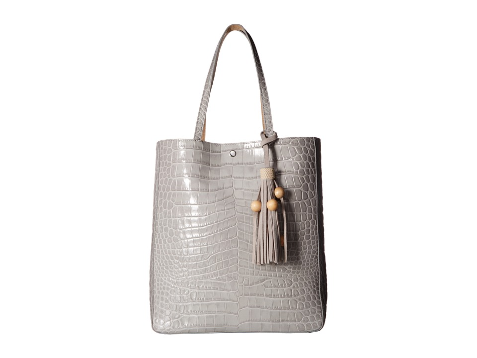 Elizabeth and James - Eloise Magazine Tote (Light Grey) Tote Handbags