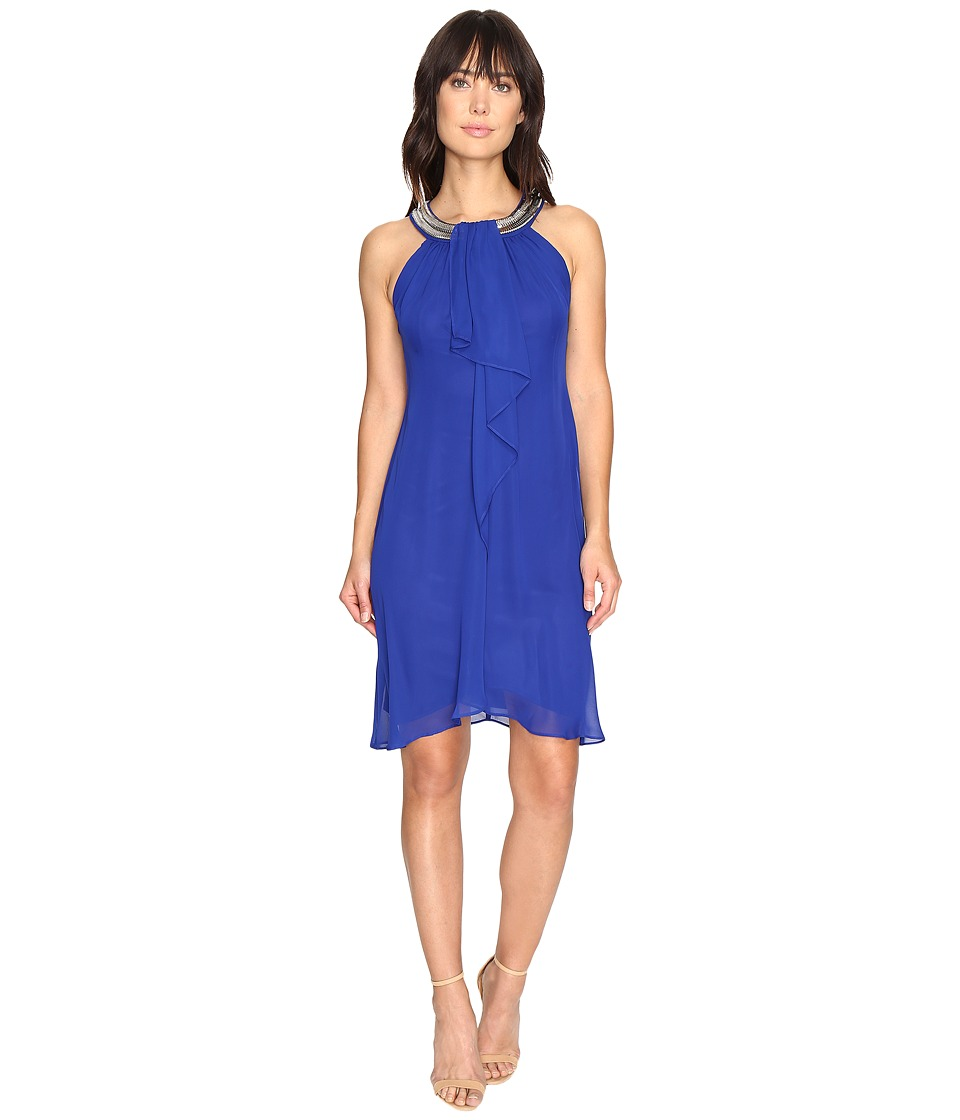 Sangria - Necklace Dress (Cobalt) Women's Dress
