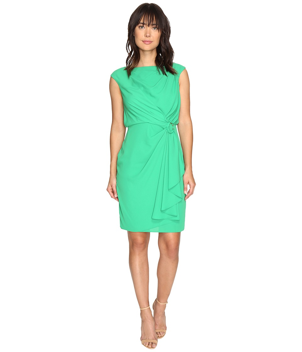 Sangria - Drape Dress (Kelly) Women's Dress