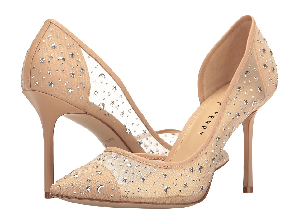 Katy Perry - The Anne (Nude Mesh/Nappa) Women's Shoes