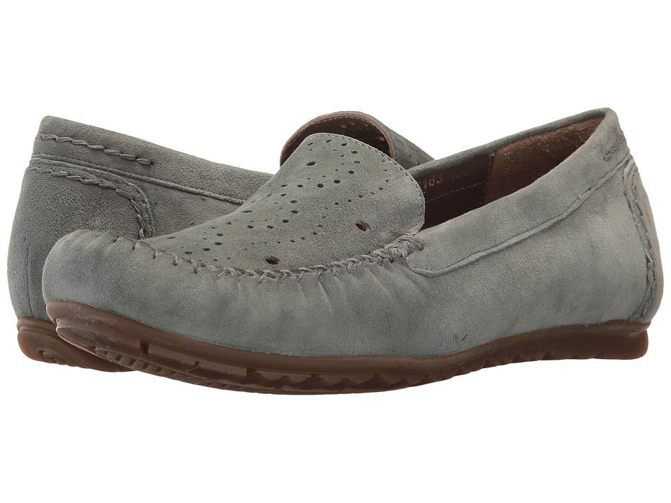 Rose Petals - Elle (Denim Suede) Women's Flat Shoes