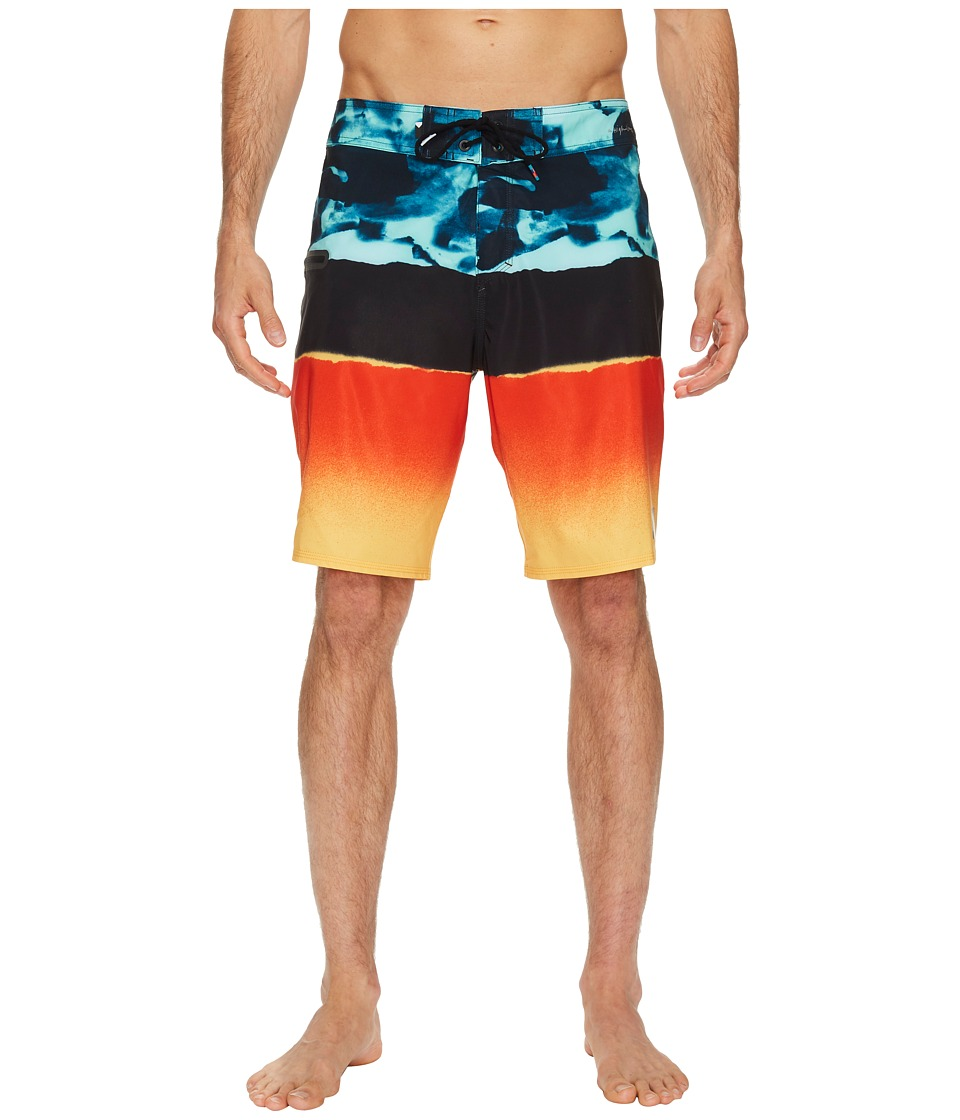 Quiksilver Blocked Resin Camo 20 Boardshort (Moroccan Blue) Men