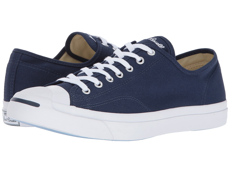 Converse - Jack Purcell Jack - Ox (Midnight Navy/Natural/White) Lace up casual Shoes