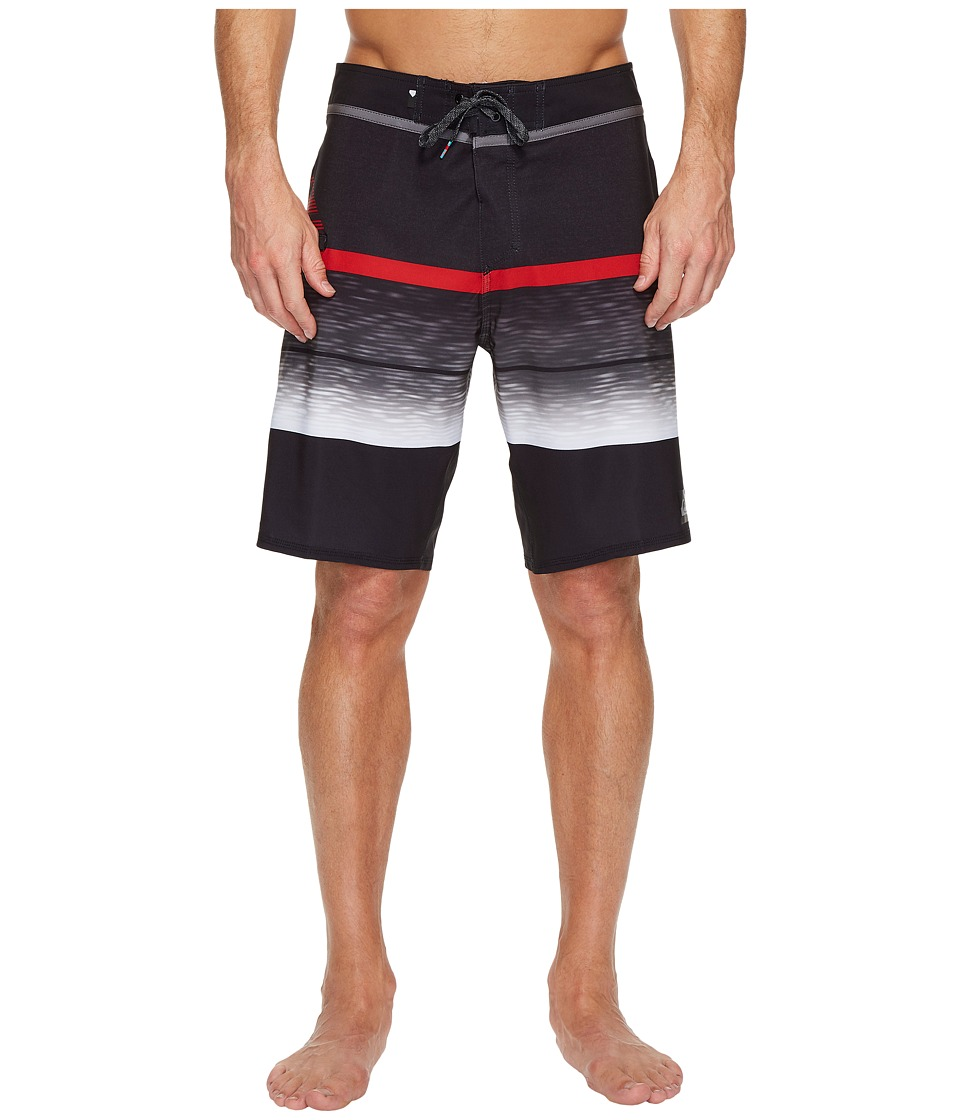 Quiksilver - Slab Logo Vee 20 Boardshorts (Iron Gate) Men's Swimwear