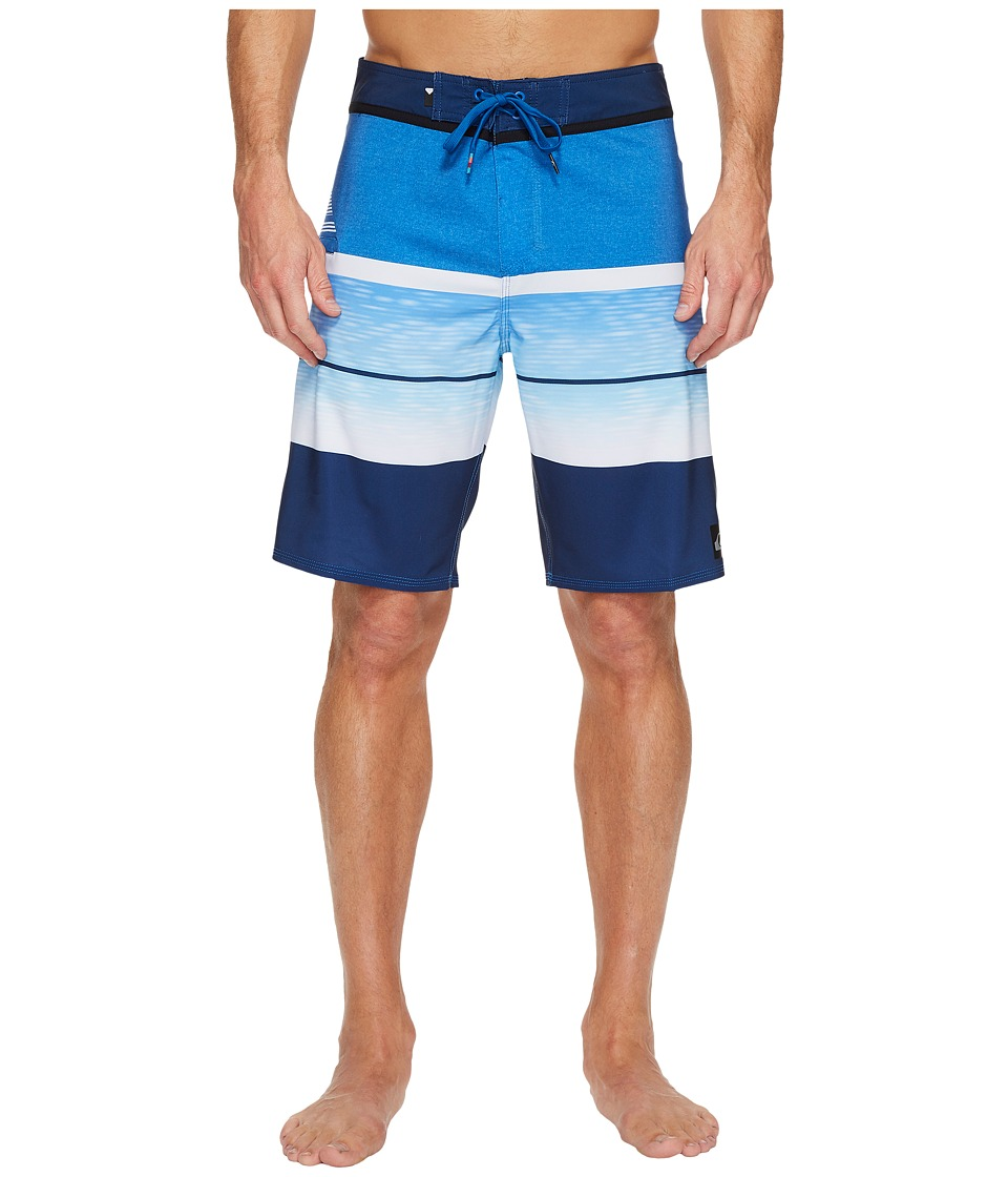 Quiksilver Slab Logo Vee 20 Boardshorts (Turkish Sea) Men