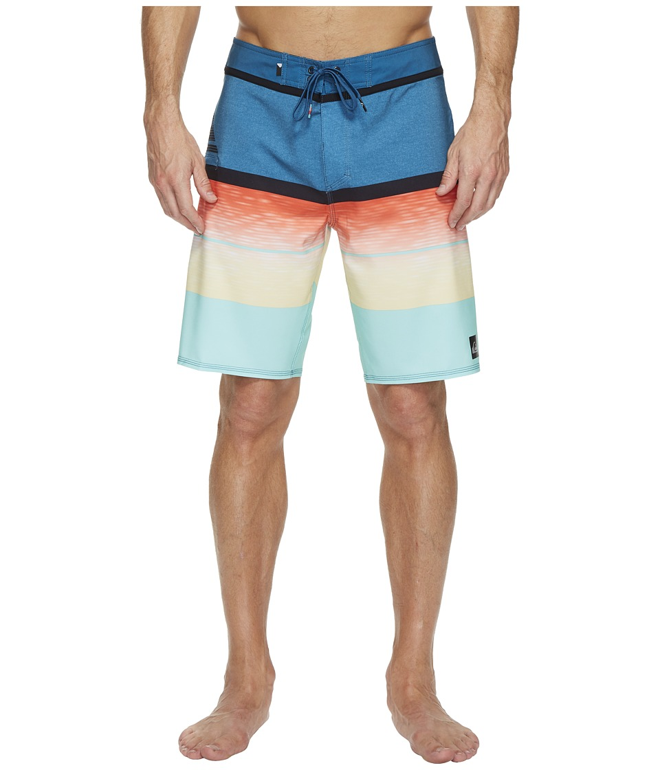 Quiksilver - Slab Logo Vee 20 Boardshorts (Cherry Tomato) Men's Swimwear