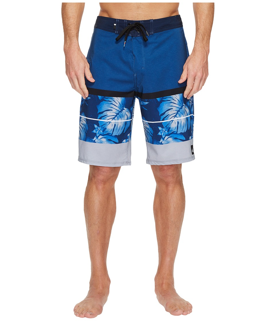 Quiksilver - Slab Vee 21 Boardshort (Black) Men's Swimwear