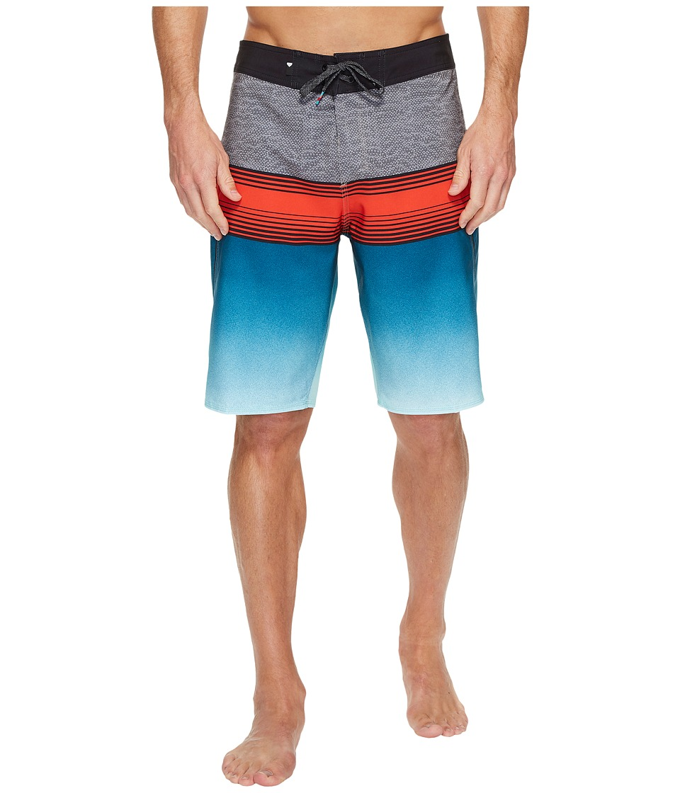 Quiksilver - Division Fade 21 Boardshort (Blue Light) Men's Swimwear