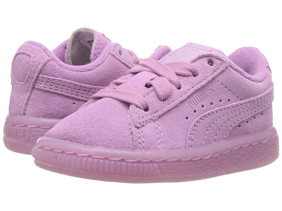 Puma Kids - Suede Iced (Toddler) (Smoky Grape) Girls Shoes