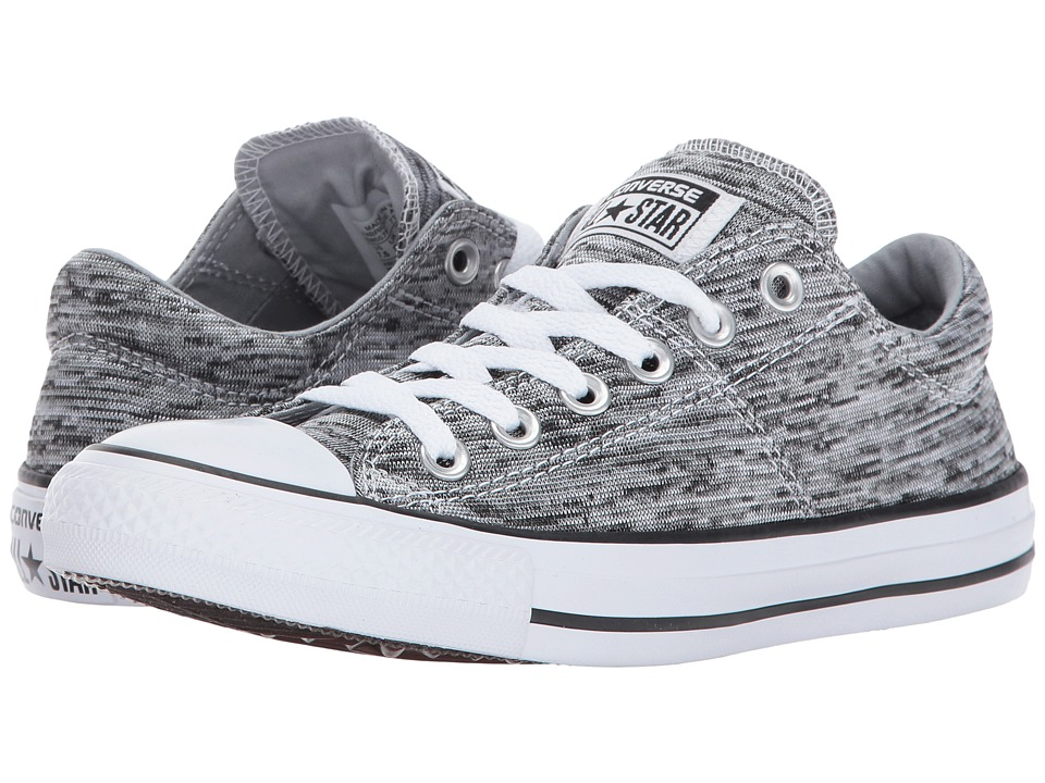 Converse - Chuck Taylor All Star Madison - Ox (Black/Wolf Grey) Women's Lace up casual Shoes