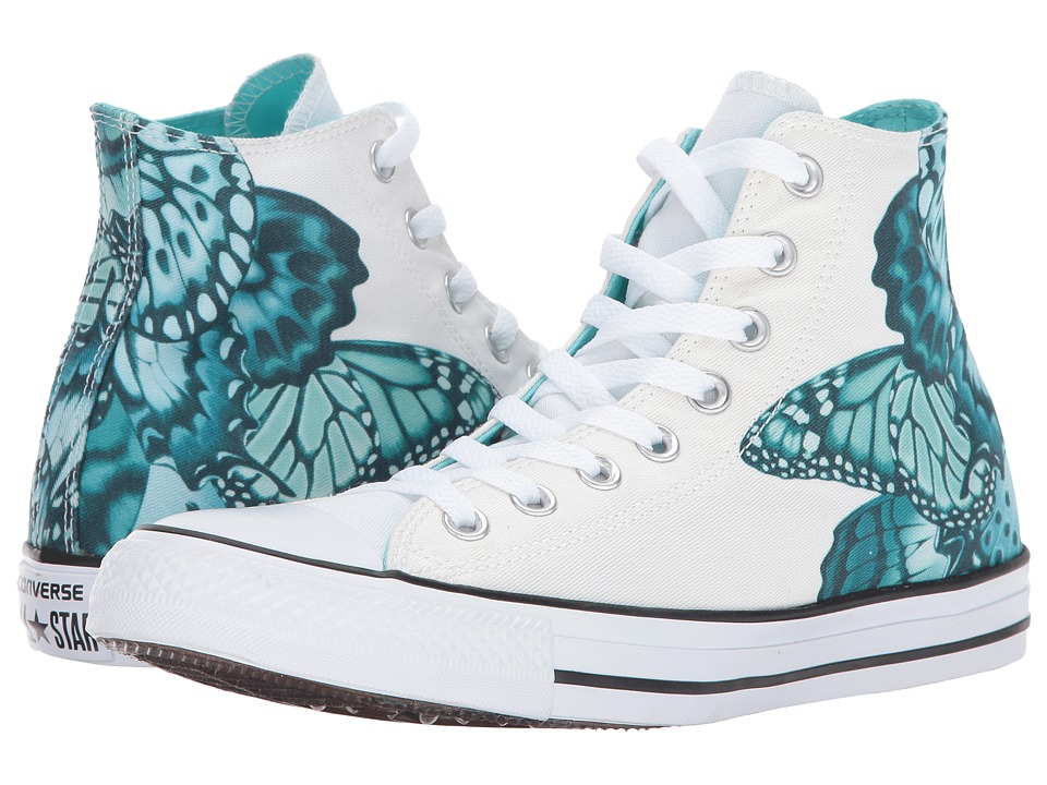 Converse - Chuck Taylor All Star - Hi (Light Aqua/White/Black) Women's Lace up casual Shoes