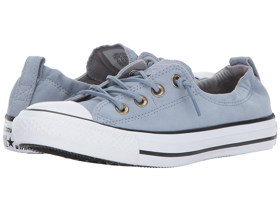 Converse Chuck Taylor All Star Shoreline Slip Peached Canvas (Blue Slate/Ash Grey/White) Women