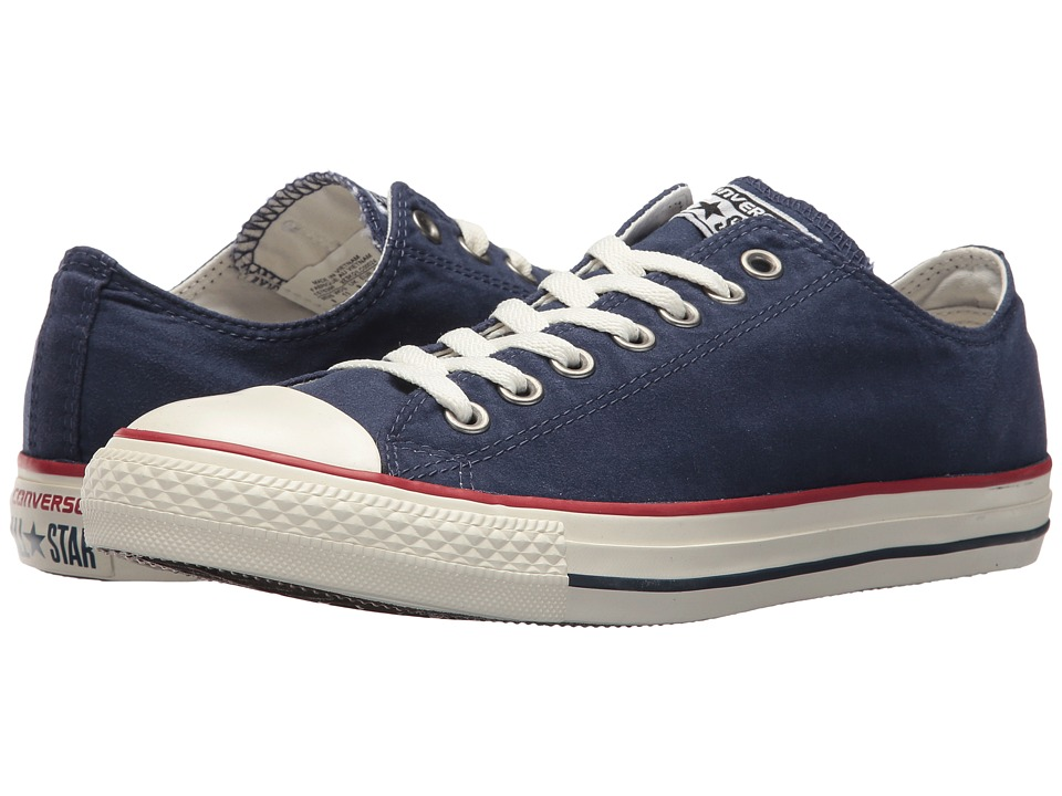 Converse - Chuck Taylor All Star Ombre Wash - Ox (Midnight Navy/Garnet/Egret) Lace up casual Shoes