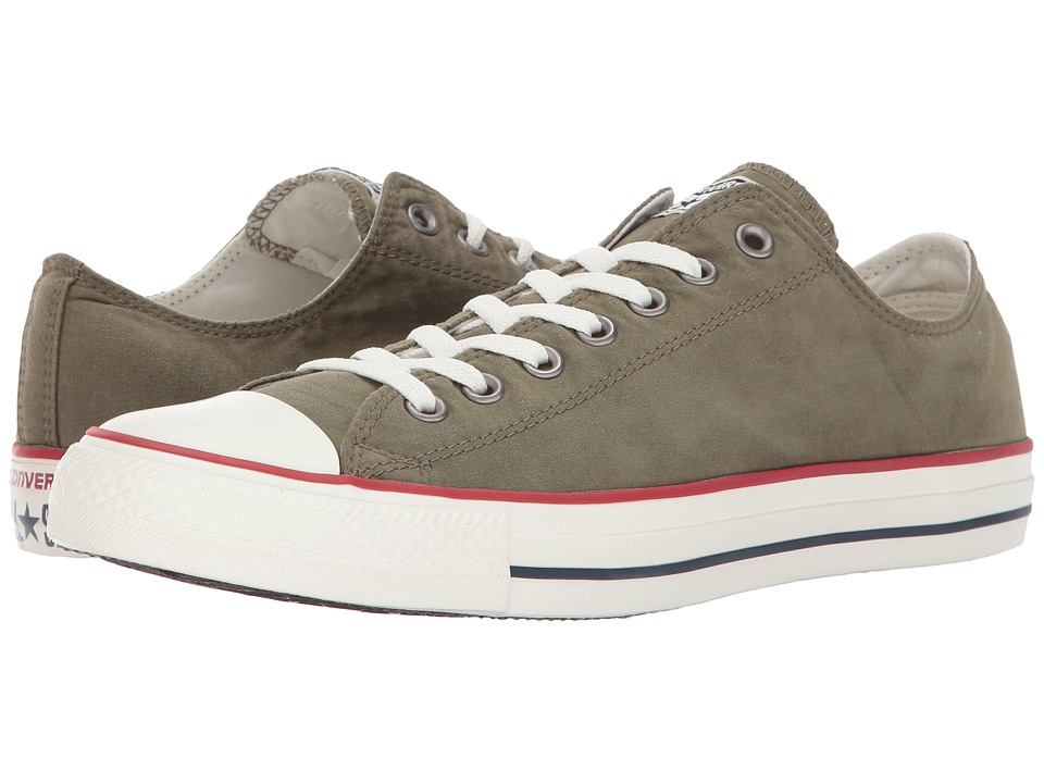 Converse - Chuck Taylor All Star Ombre Wash - Ox (Medium Olive/Garnet/Egret) Lace up casual Shoes
