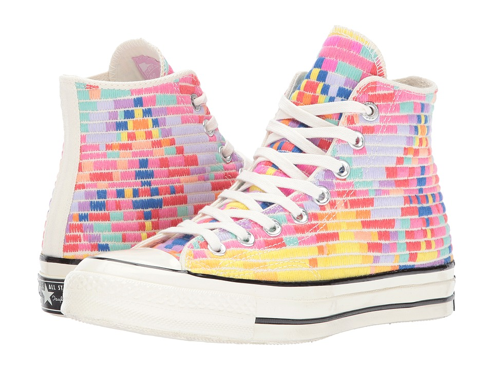 Converse - Chuck Taylor All Star 70 - Hi (Purple/Pink/Egret) Lace up casual Shoes
