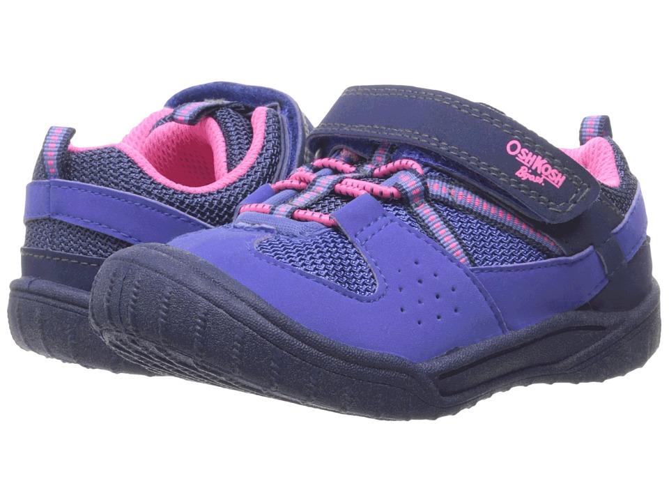 OshKosh - Hallux (Toddler/Little Kid) (Blue/Pnk) Girl's Shoes