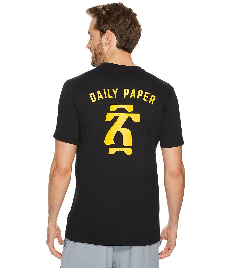 PUMA Daily Paper Tee (Puma Black) Men