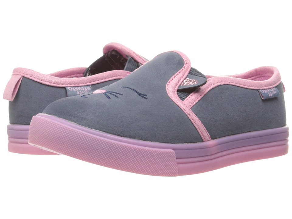 OshKosh - Edie 2 (Toddler/Little Kid) (Blue/Pink) Girl's Shoes