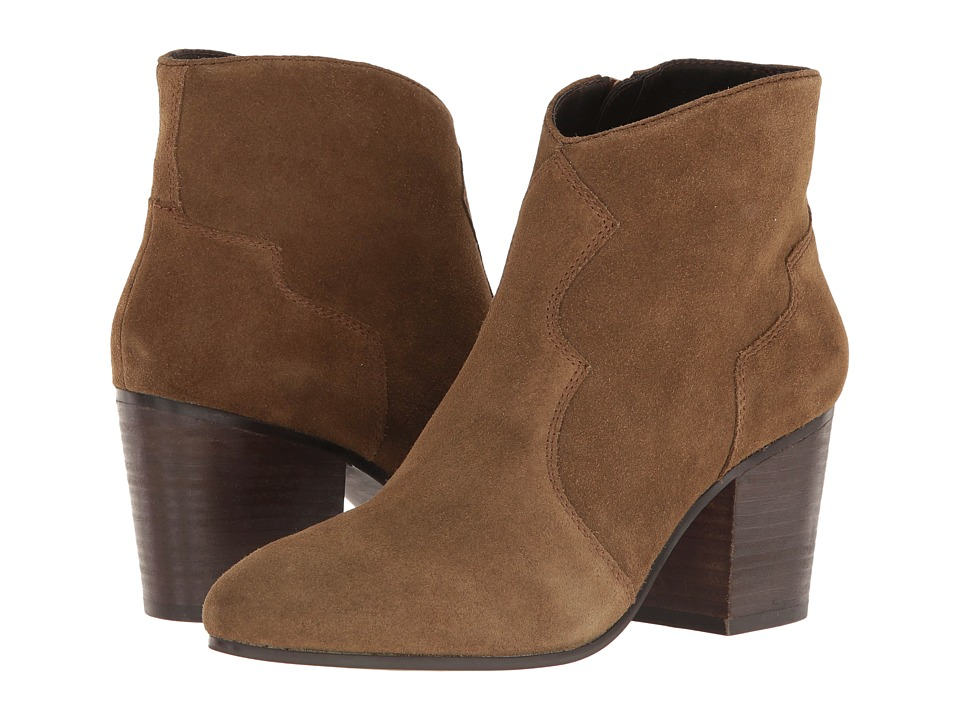 Steve Madden Rooney Tan Suede Dress Boots