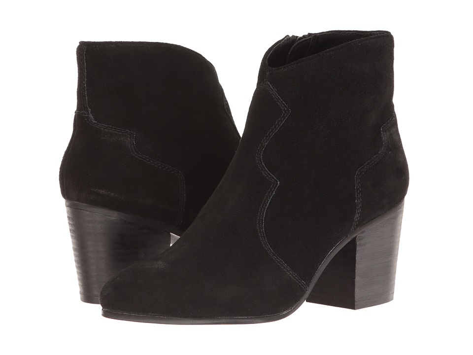 Steve Madden Rooney (Black Suede) Women