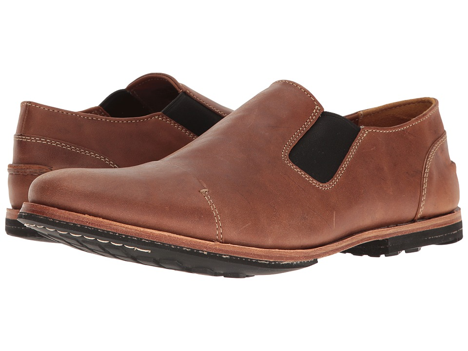 Timberland Boot Company - Wodehouse Cap Toe Slip-On (Medium Brown) Men's Shoes