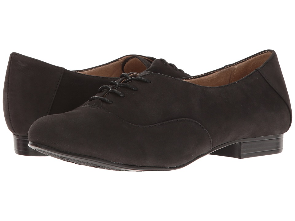 Naturalizer - Leal (Black Leather) Women's Shoes