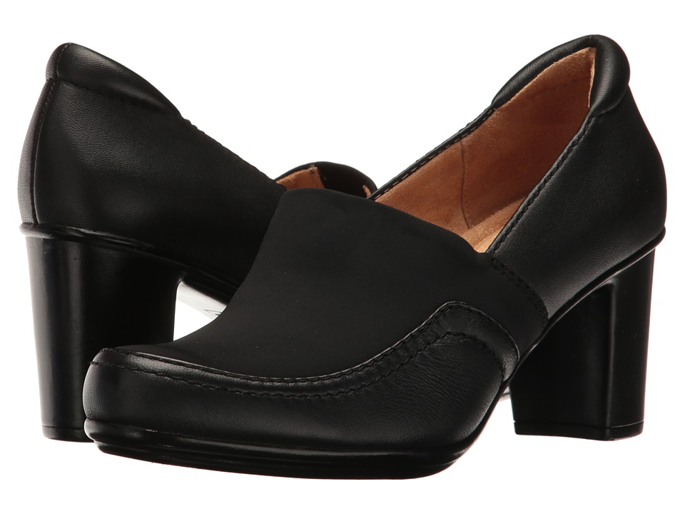 Naturalizer - Quebec (Black Leather) Women's Shoes