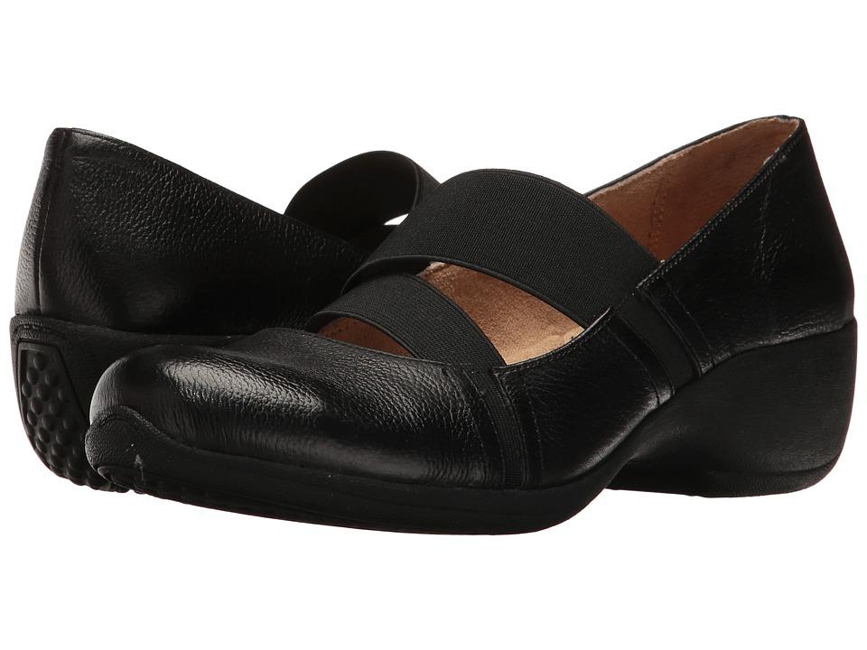 Naturalizer - Joellea (Black Leather) Women's Shoes