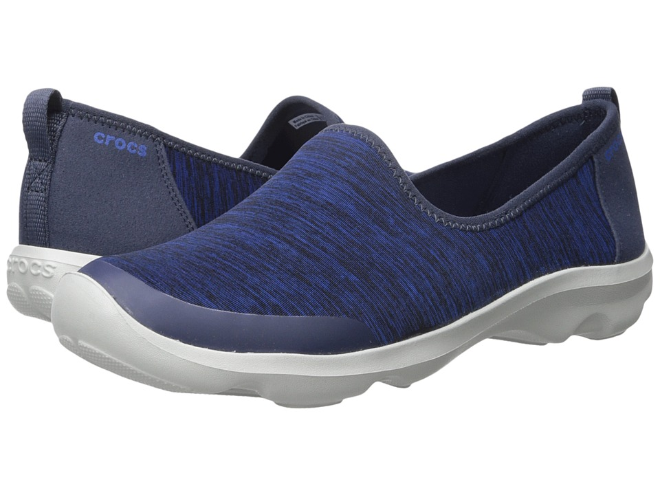 Crocs - Busy Day Heather Skimmer (Navy) Women's Sandals