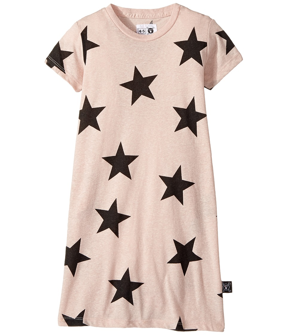Nununu - Star A Dress (Infant/Toddler/Little Kids) (Powder Pink) Girl's Dress