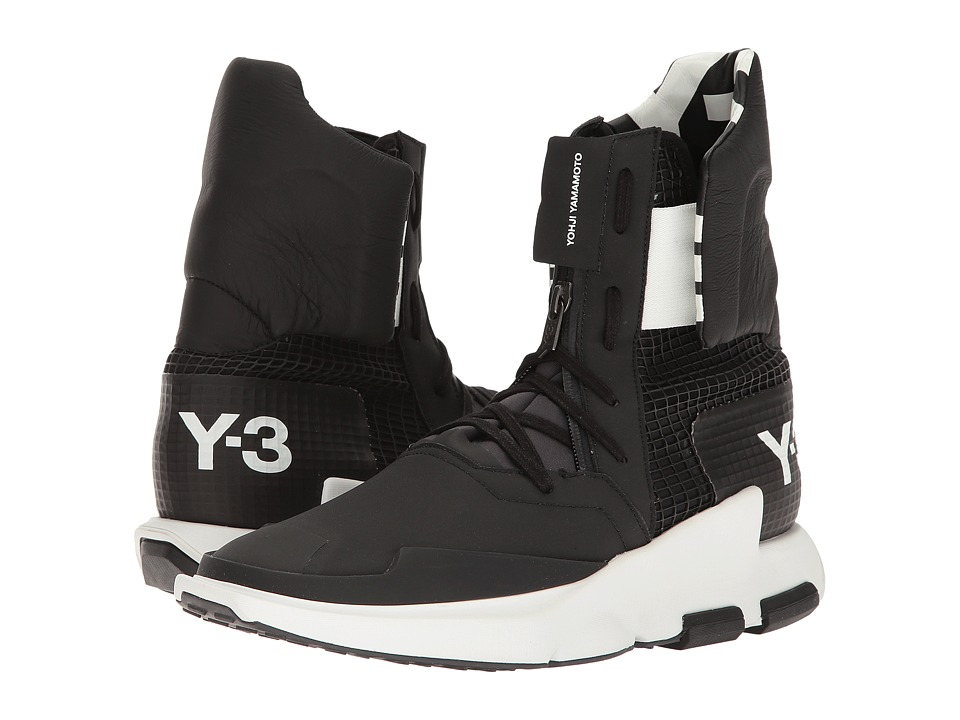 adidas Y-3 by Yohji Yamamoto - Y-3 Noci High (Utility Black/Core Black/Core Black) Men's Shoes