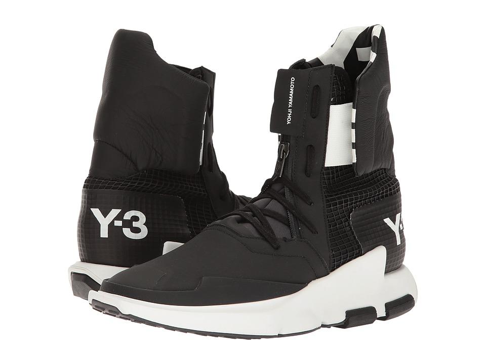 adidas Y-3 by Yohji Yamamoto - Y-3 Noci High (Utility Black/Core Black/Core Black) Men's Shoes