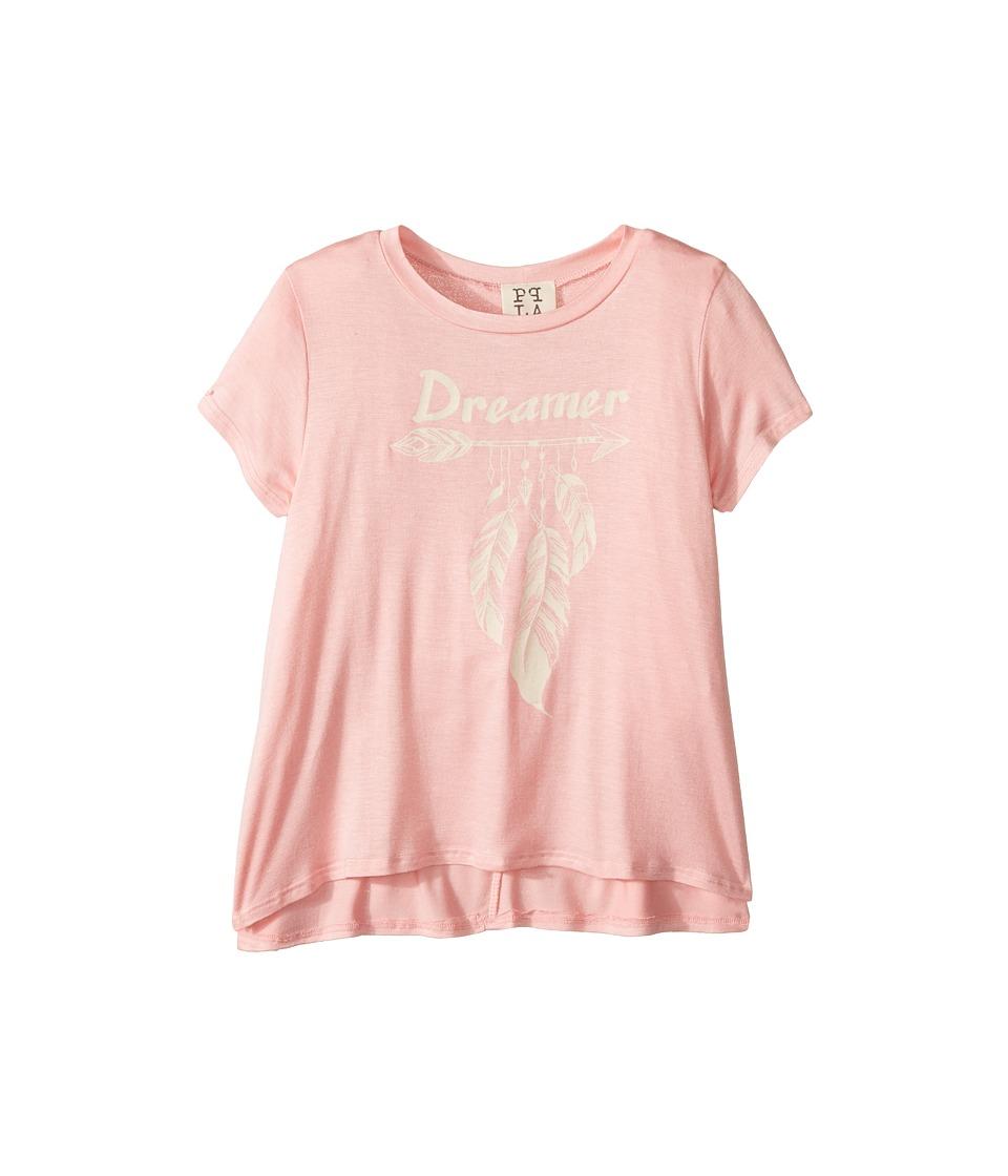 People's Project LA Kids - Dreamer Swing Tee (Big Kids) (Coral) Girl's T Shirt