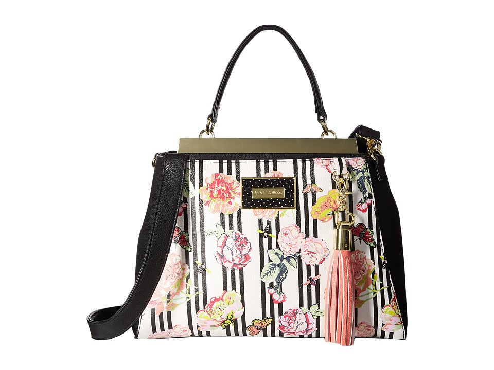 Betsey Johnson - Satchel (Floral) Satchel Handbags