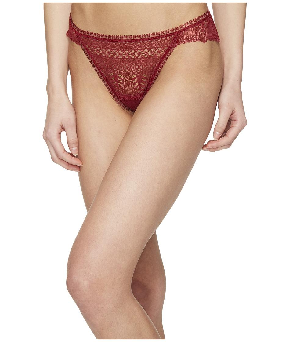 ELSE - Ivy Lace Thong (Spice) Women's Underwear