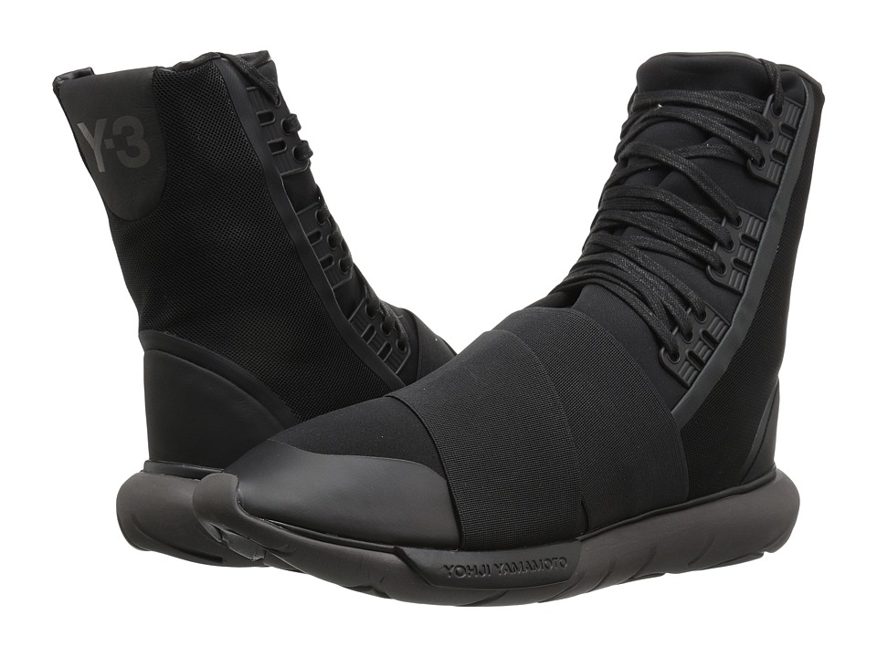 adidas Y-3 by Yohji Yamamoto - Y-3 Qasa Boot (Core Black/Core Black/Utility Black) Men's Boots