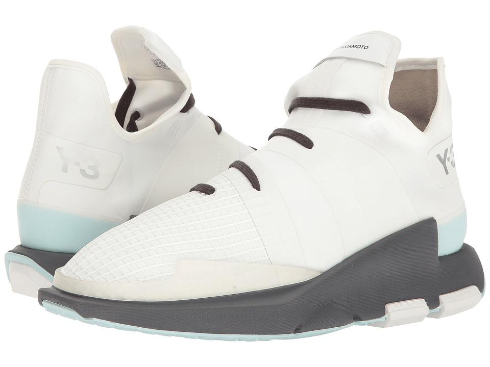 adidas Y-3 by Yohji Yamamoto - Y-3 Noci Low (Crystal White/Footwear White/Utility Black) Men's Shoes