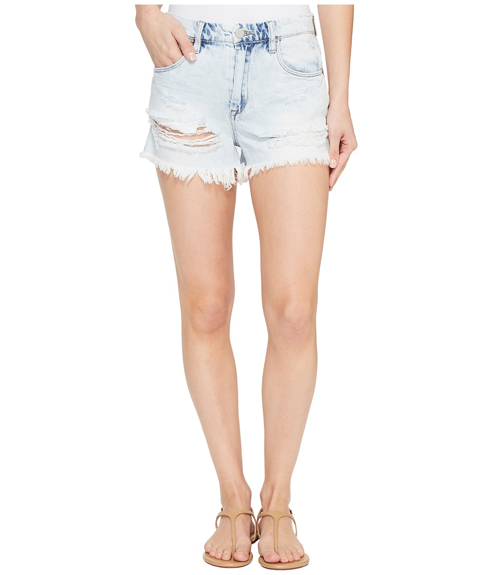 Blank NYC - Denim High-Rise Shorts in Love Stoned (Love Stoned) Women's Shorts