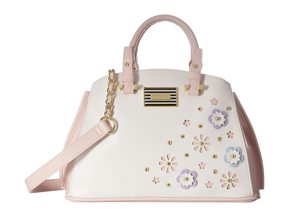 Betsey Johnson - Budding Flowers Bowl (Cream) Handbags