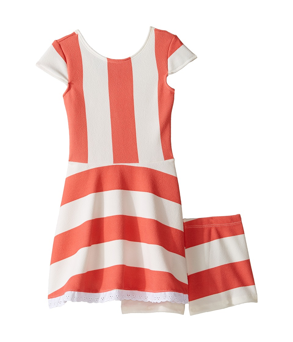fiveloaves twofish - Lilo Playset Dress (Toddler/Little Kids/Big Kids) (Coral) Girl's Dress