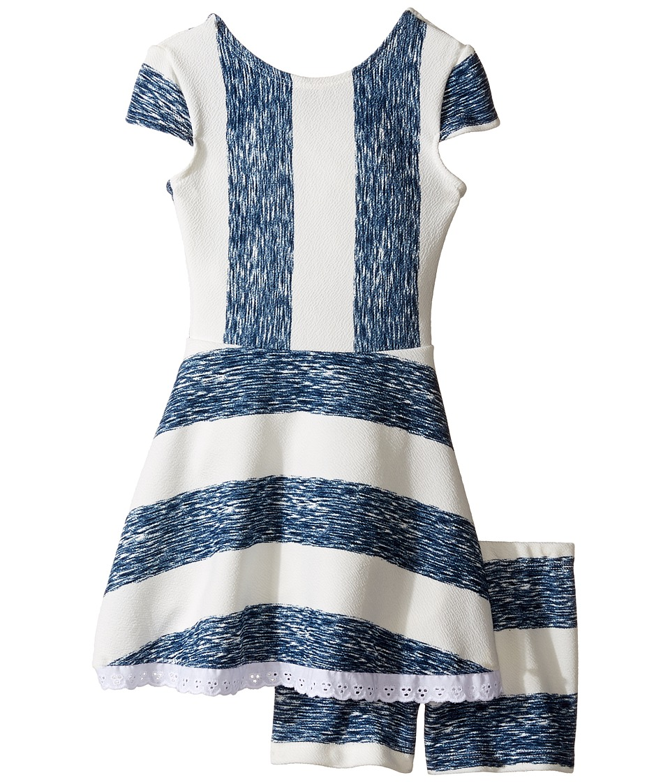 fiveloaves twofish - Lilo Playset Dress (Toddler/Little Kids/Big Kids) (Indigo) Girl's Dress