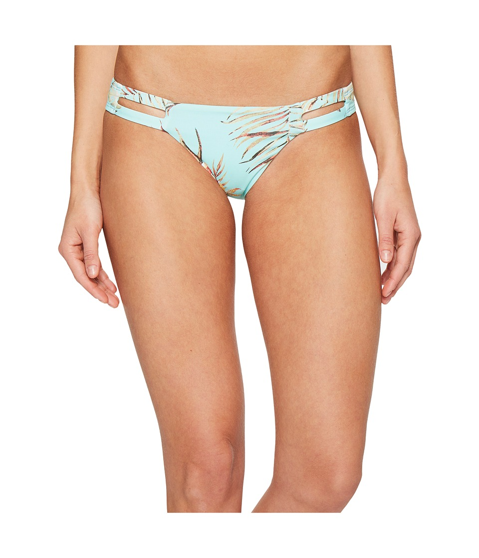 Vitamin A Swimwear - Neutra Hipster Cheeky Bikini Bottom (Blue Lagoon) Women's Swimwear