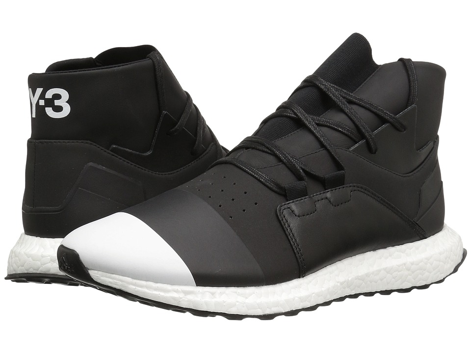 adidas Y-3 by Yohji Yamamoto - Y-3 Kozoko High (Core Black/Core Black/Footwear White) Men's Shoes